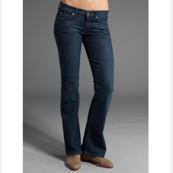 cd4056c07d199 7 For All Mankind Denim - 7 for all Mankind Lexi Bootcut Petite Jeans.